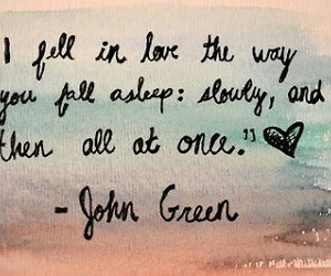 john green, love, and quote image