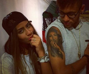 neymar, tattoo, and neymar jr image