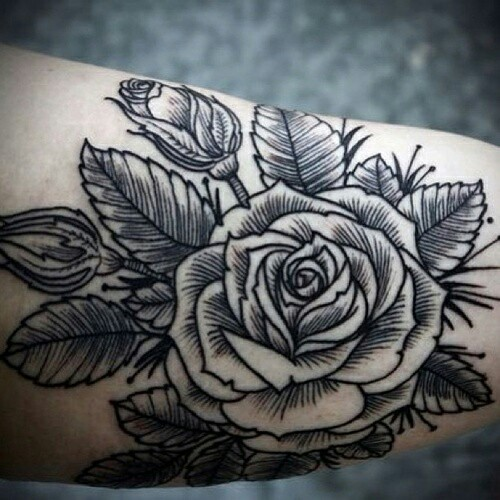 51 Images About Rose On We Heart It See More About Tattoo Rose