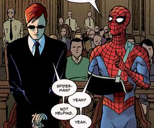 daredevil and spiderman image