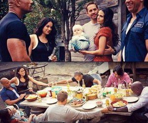 family and paul walker image