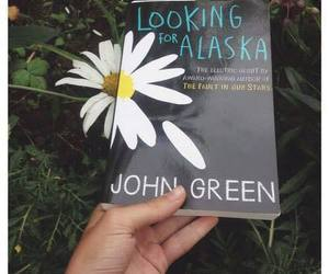 john green, book, and flowers image