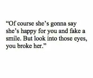 sad, quotes, and broken image