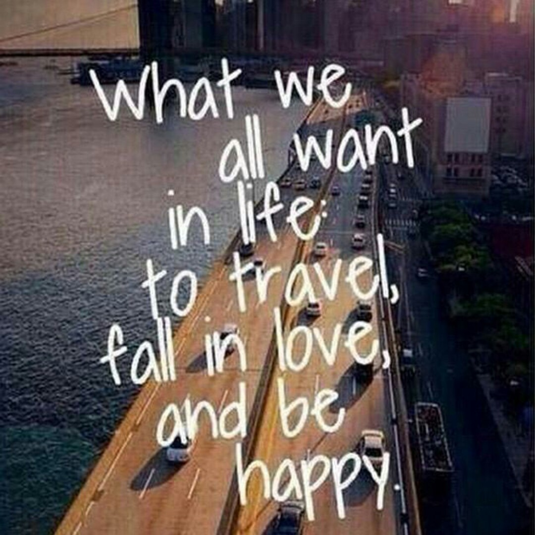 happy, love, and travel image