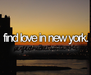 new york, before i die, and love image