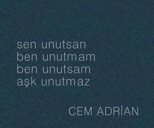 turkce, cem adrian, and sözler image