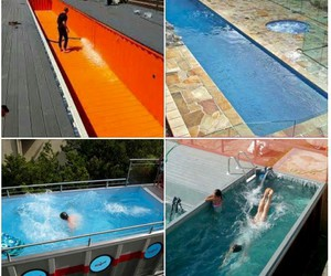 diy, summer, and swimming pool image