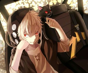 black, kano, and cat image