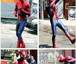 spiderman, the amazing spiderman, and andrew image