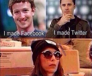 cameron dallas, facebook, and twitter image