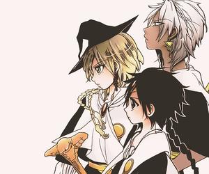anime, magi, and aladdin image