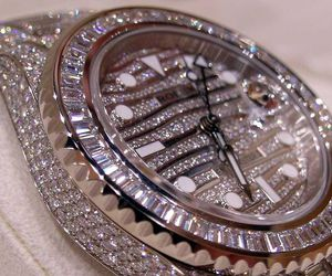watch, rolex, and bling image