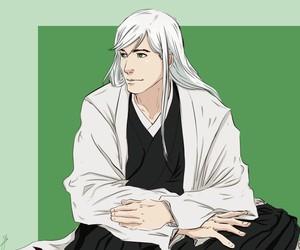 bleach and ukitake jushiro image