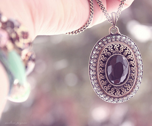 necklace, jewelry, and vintage image