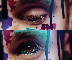 justin bieber, justin, and eyes image