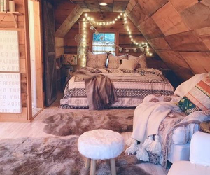 bed, decoration, and fashion image
