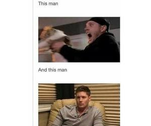 dean winchester, funny, and Hot image