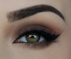 eyelashes, eyes, and makeup image