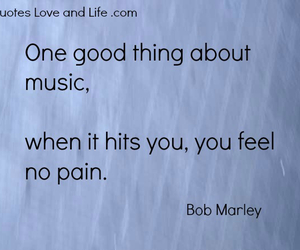 quote, music, and bob marley image