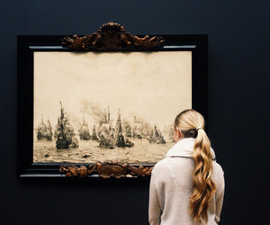 art, painting, and museum image