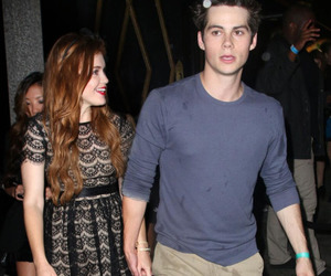 stydia, holland roden, and dylan o'brien image