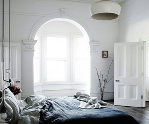 bedroom, room, and interior image