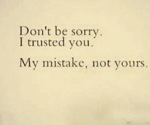 mistake, sorry, and quote image