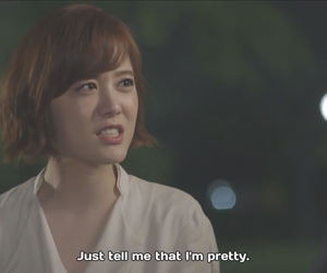 couple, kdrama, and tell me i'm pretty image