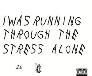depressing, Drake, and sad image