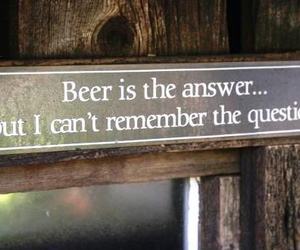 beer and quote image