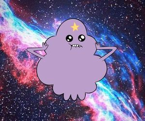 adventure time and galaxy image