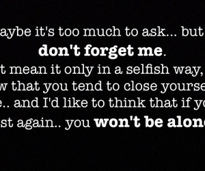 alone, forget, and lost image
