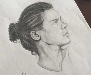 drawing, styles, and 1d image
