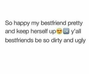 best friends and ugly image