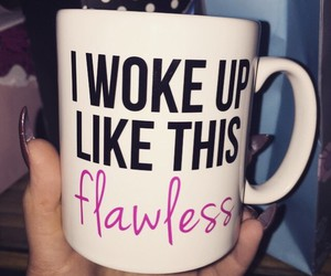 flawless, cup, and beyoncé image