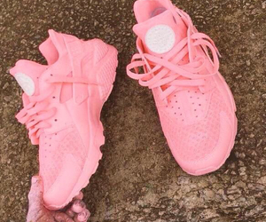 pink, shoes, and huarache image