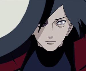 anime, naruto, and madara image