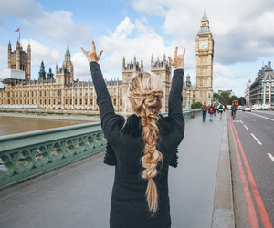 london, blonde, and girl image