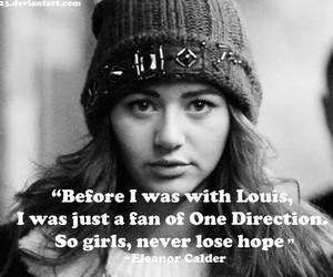 one direction, louis tomlinson, and eleanor image