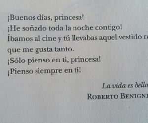 frases en español, buenos dias princesa, and amor image