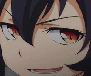 anime, anime reaction, and anime girl image