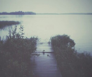 grunge, indie, and lake image