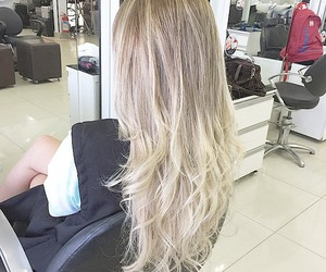 cabelo, hair, and loiro image