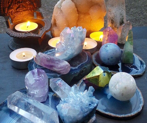crystals, light, and magic image