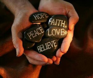 believe, faith, and god image