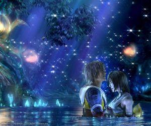 yuna, final fantasy, and tidus image