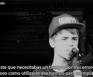 justin bieber, justin, and frases image