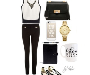black and white, chic, and classic image