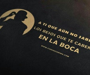 Besos, amor, and joaquínsabina image