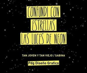 estrellas, joaquínsabina, and luces image